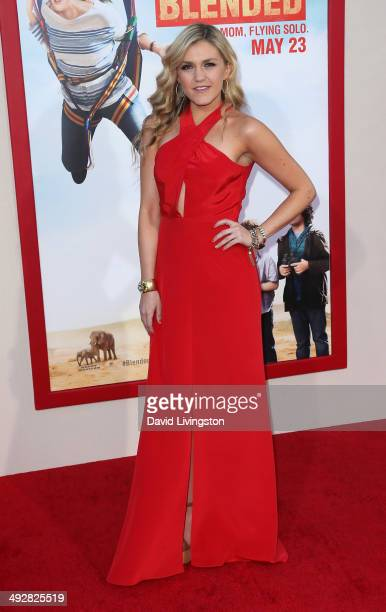 Actress Jessica Lowe attends the Los Angeles premiere of 'Blended' at the TCL Chinese Theatre on May 21 2014 in Hollywood California
