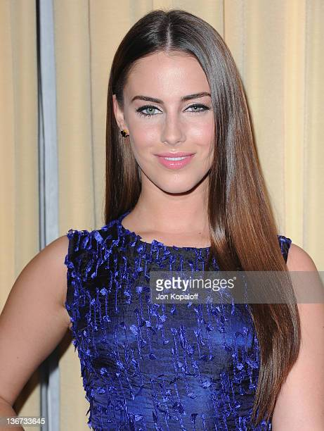 Actress Jessica Lowndes arrives at Forevermark And InStyle Golden Globes Event 'A Promise Of Beauty And Brilliance' at the Beverly Hills Hotel on...