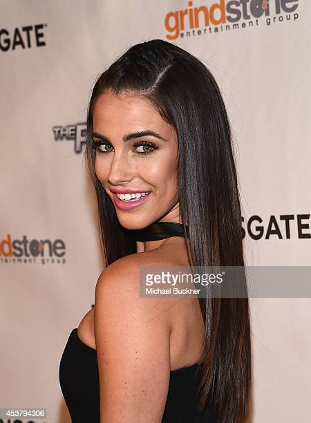 Actress Jessica Lowndes arrives at the special screening of Lionsgate Films' 'The Prince' at the TCL Chinese 6 Theatres on August 18 2014 in...