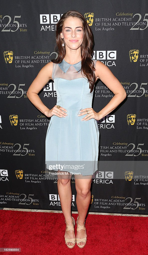 Actress <a gi-track='captionPersonalityLinkClicked' href=/galleries/search?phrase=Jessica+Lowndes&family=editorial&specificpeople=3960270 ng-click='$event.stopPropagation()'>Jessica Lowndes</a> attends BAFTA LA TV Tea 2012 Presented By BBC America at The London Hotel Hollywood on September 22, 2012 in West Hollywood, California.