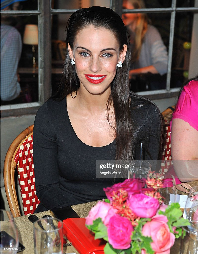 Actress <a gi-track='captionPersonalityLinkClicked' href=/galleries/search?phrase=Jessica+Lowndes&family=editorial&specificpeople=3960270 ng-click='$event.stopPropagation()'>Jessica Lowndes</a> attends Lucky Brand's Measure of Style Dinner at Chateau Marmont on June 13, 2013 in Los Angeles, California.