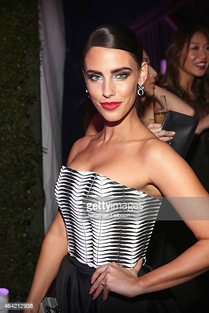 Actress Jessica Lowndes attends ROCA PATRON TEQUILA at the 23rd Annual Elton John AIDS Foundation Academy Awards Viewing Party on February 22 2015 in...