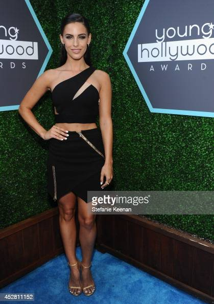 Actress Jessica Lowndes attends the 2014 Young Hollywood Awards brought to you by Samsung Galaxy at The Wiltern on July 27 2014 in Los Angeles...