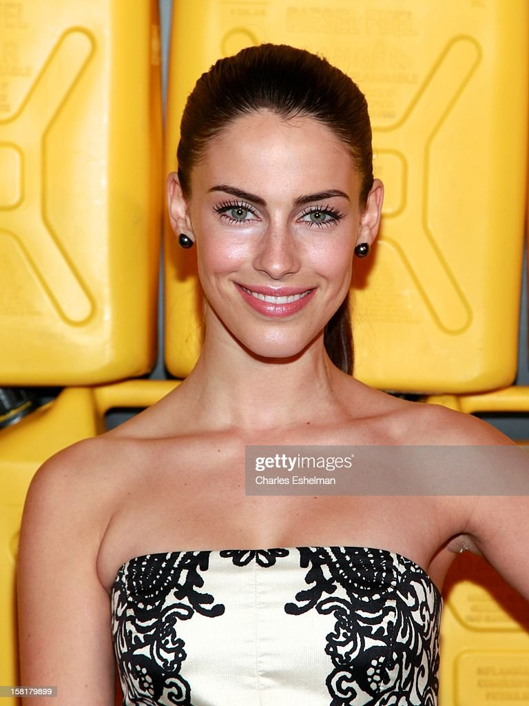 Actress <a gi-track='captionPersonalityLinkClicked' href=/galleries/search?phrase=Jessica+Lowndes&family=editorial&specificpeople=3960270 ng-click='$event.stopPropagation()'>Jessica Lowndes</a> attends the 7th annual Charity Ball Benefiting Charity:Water at the 69th Regiment Armory on December 10, 2012 in New York City.