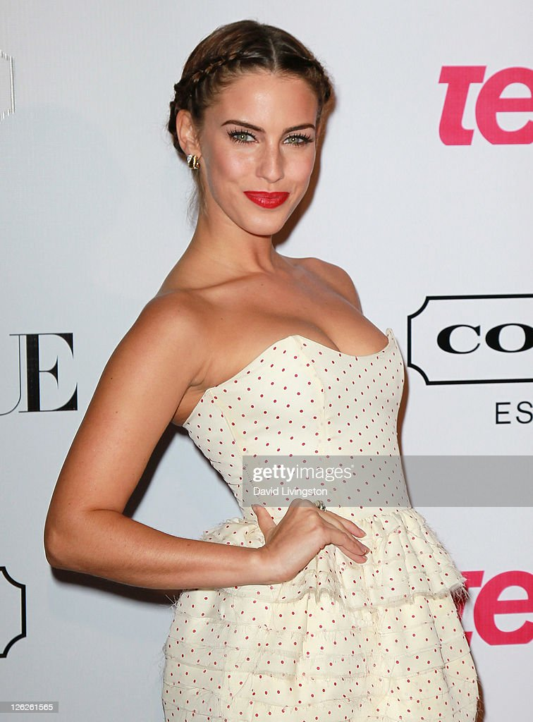 Actress Jessica Lowndes attends the 9th annual Teen Vogue's Young Hollywood party at Paramount Studios on September 23, 2011 in Los Angeles, California.