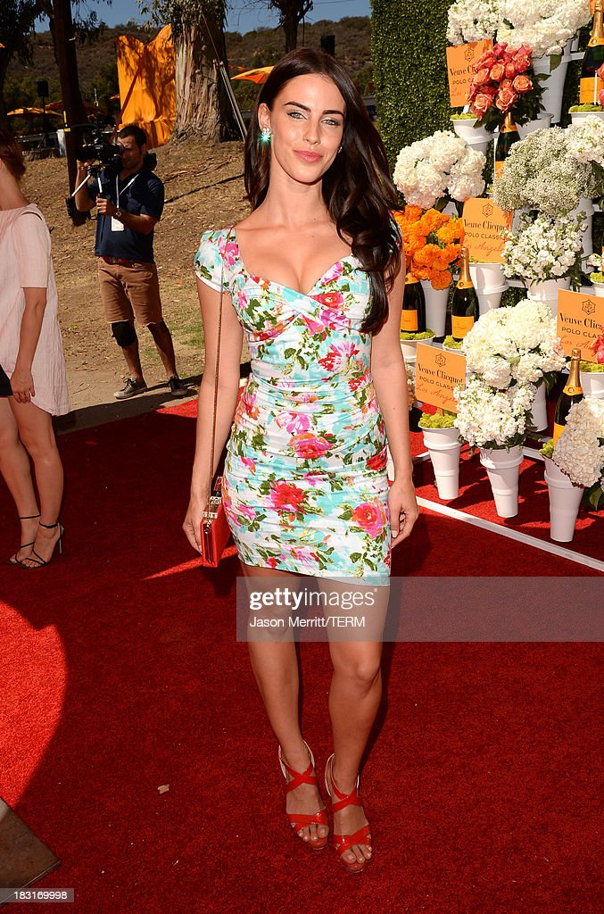 Actress Jessica Lowndes attends The Fourth-Annual Veuve Clicquot Polo Classic, Los Angeles at Will Rogers State Historic Park on October 5, 2013 in Pacific Palisades, California.