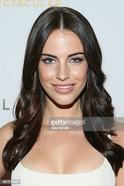 Actress Jessica Lowndes attends the Sports Spectacular Luncheon Benefiting CedarsSinai at The Beverly Hilton Hotel on March 25 2015 in Beverly Hills...
