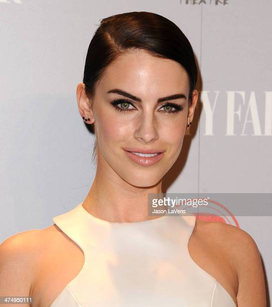 Actress Jessica Lowndes attends the Vanity Fair Campaign Young Hollywood party at No Vacancy on February 25 2014 in Los Angeles California