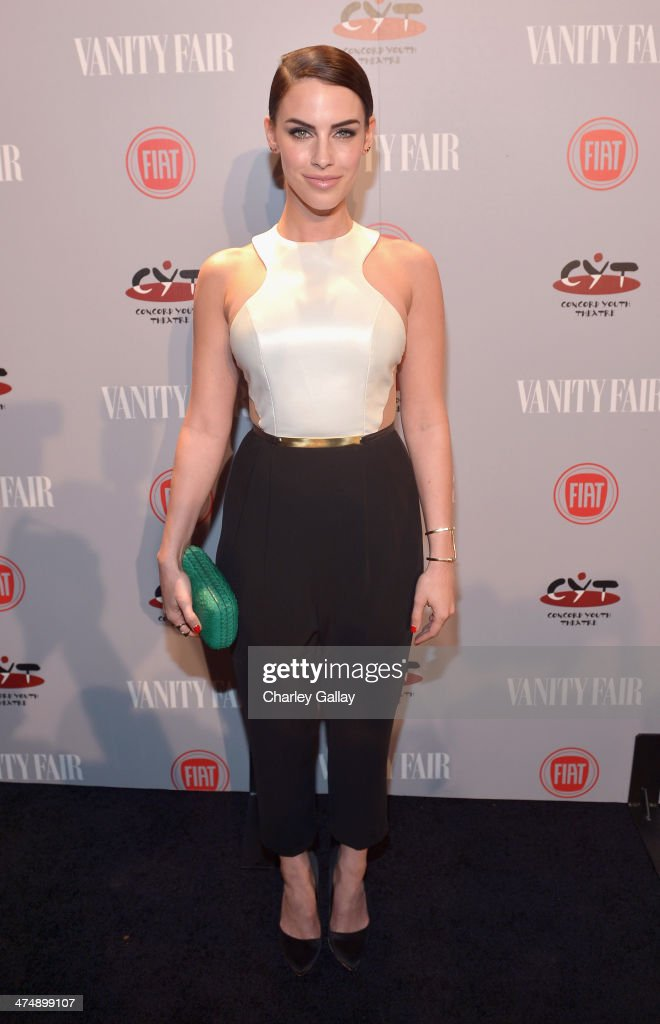 Actress <a gi-track='captionPersonalityLinkClicked' href=/galleries/search?phrase=Jessica+Lowndes&family=editorial&specificpeople=3960270 ng-click='$event.stopPropagation()'>Jessica Lowndes</a> attends Vanity Fair and FIAT celebration of 'Young Hollywood' during Vanity Fair Campaign Hollywood at No Vacancy on February 25, 2014 in Los Angeles, California.