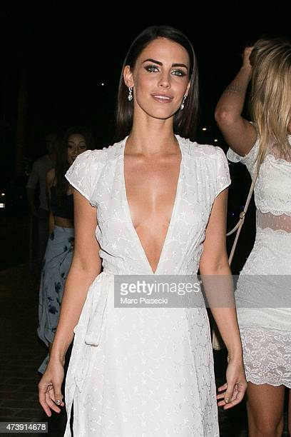 Actress Jessica Lowndes is seen during the 68th annual Cannes Film Festival on May 18 2015 in Cannes France