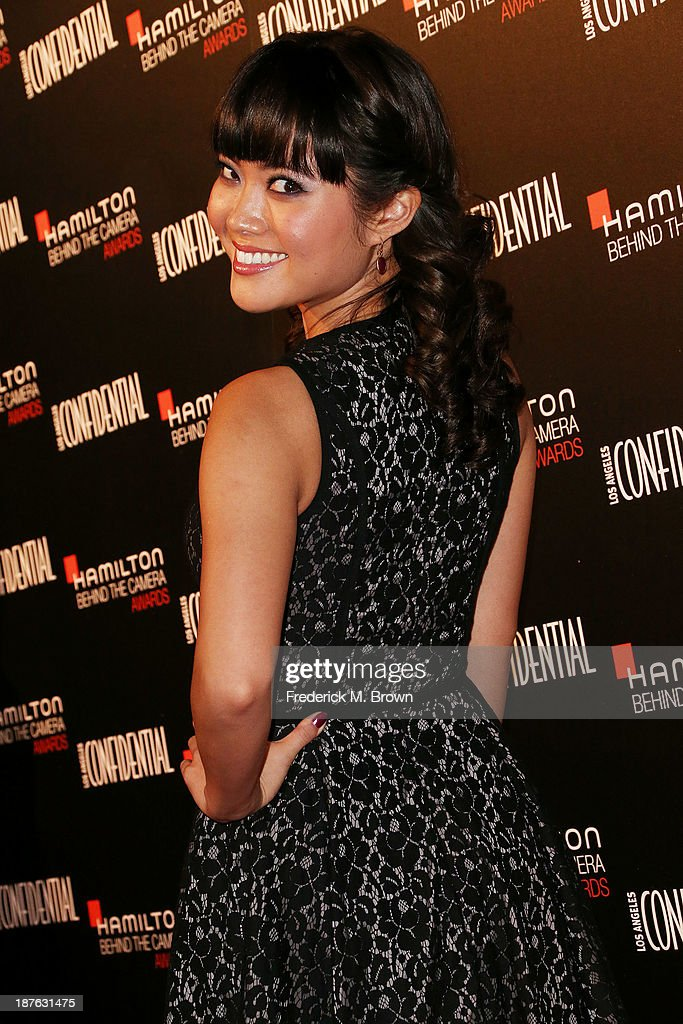 Actress Jessica Lu attends the Seventh Annual Hamilton Behind the Camera Awards at The Wilshire Ebell Theatre on November 10, 2013 in Los Angeles, California.