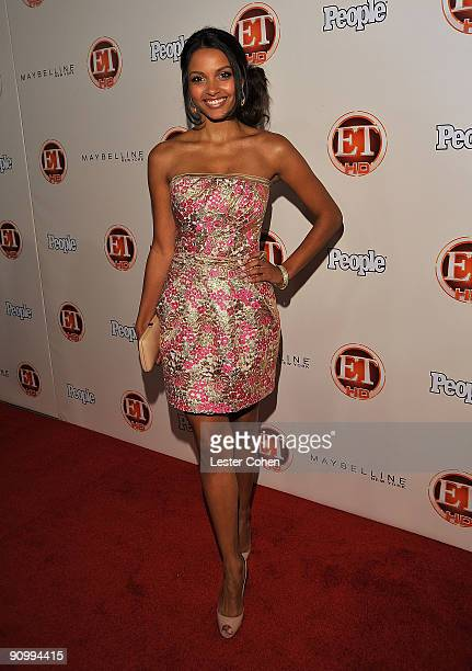 Actress Jessica Lucas arrives at the 13th Annual Entertainment Tonight and People Magazine Emmys After Party at the Vibiana on September 20 2009 in...