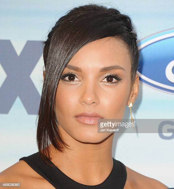 Actress Jessica Lucas arrives at the 2014 FOX Fall EcoCasino Party at The Bungalow on September 8 2014 in Santa Monica California