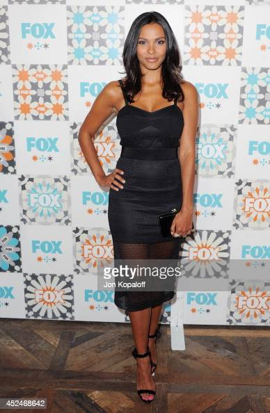 Actress Jessica Lucas arrives at the FOX AllStar Party 2014 Television Critics Association Summer Press Tour at Soho House on July 20 2014 in West...