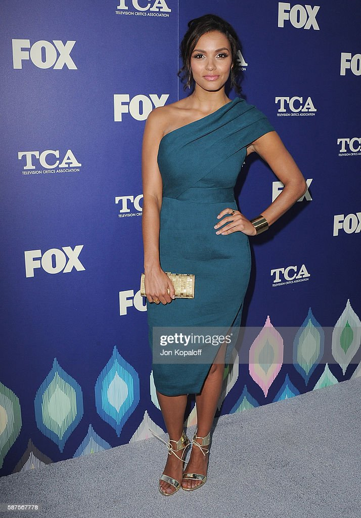 Actress Jessica Lucas arrives at the FOX Summer TCA Press Tour on August 8 2016 in Los Angeles California