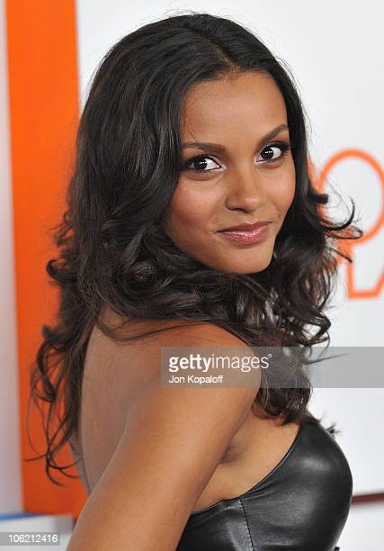 Actress Jessica Lucas arrives at the 'Melrose Place' Premiere Party at Melrose Place on August 22 2009 in Los Angeles California