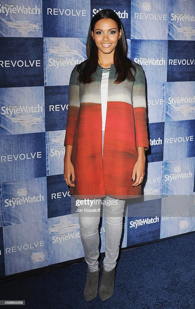 Actress Jessica Lucas arrives at the People StyleWatch 4th Annual Denim Awards Issue at The Line on September 18 2014 in Los Angeles California