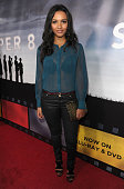 Actress Jessica Lucas arrives to Paramount Pictures' 'Super 8' Bluray and DVD release party at AMPAS Samuel Goldwyn Theater on November 22 2011 in...