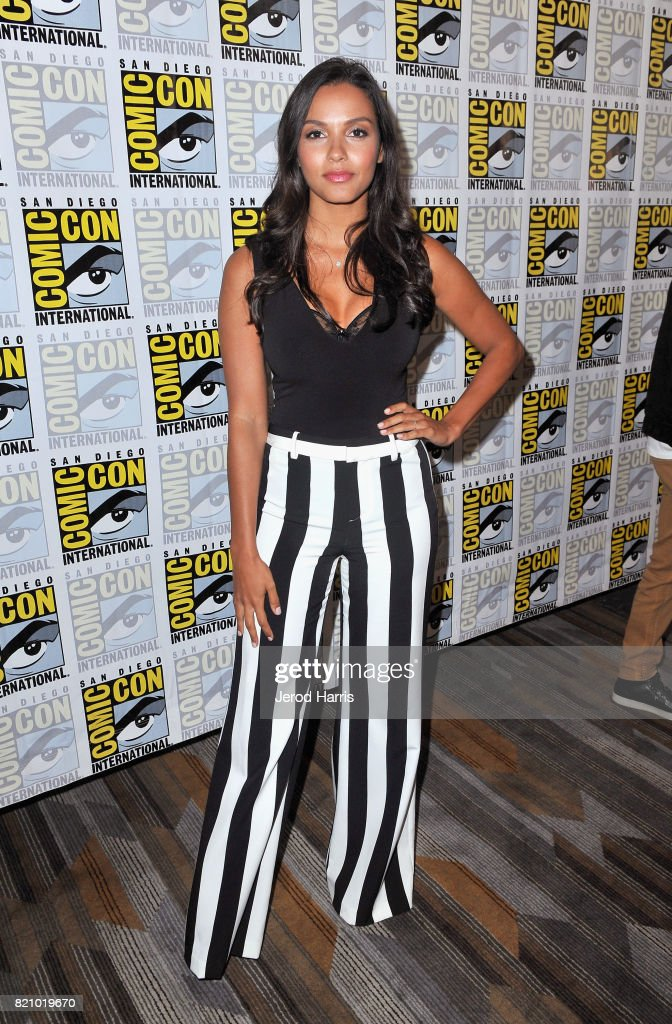 Actress Jessica Lucas at the 'Gotham' Press Line during Comic-Con International 2017 at Hilton Bayfront on July 22, 2017 in San Diego, California.