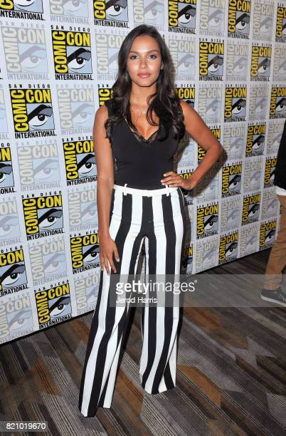 Actress Jessica Lucas at the 'Gotham' Press Line during ComicCon International 2017 at Hilton Bayfront on July 22 2017 in San Diego California