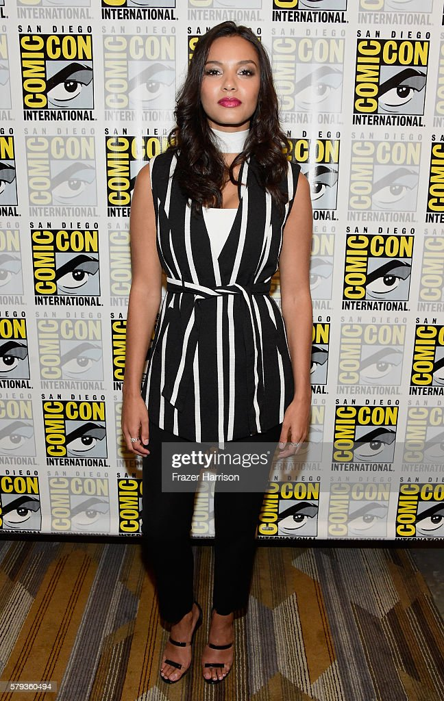 Actress Jessica Lucas attends 'Gotham' Press Line during ComicCon International 2016 at Hilton Bayfront on July 23 2016 in San Diego California