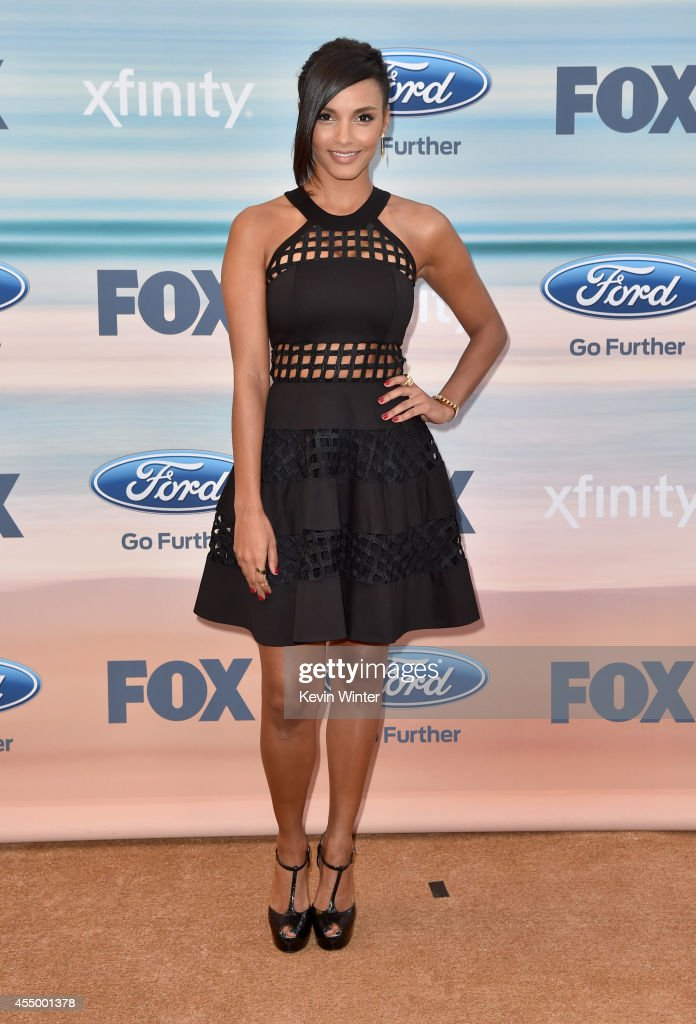 Actress Jessica Lucas attends the 2014 FOX Fall EcoCasino party at The Bungalow on September 8 2014 in Santa Monica California