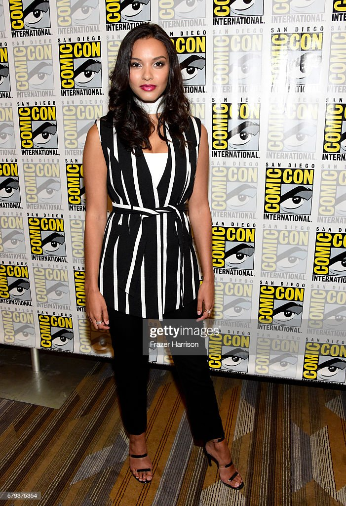 Actress Jessica Lucas attends the 'Gotham' press line during ComicCon International 2016 at Hilton Bayfront on July 23 2016 in San Diego California