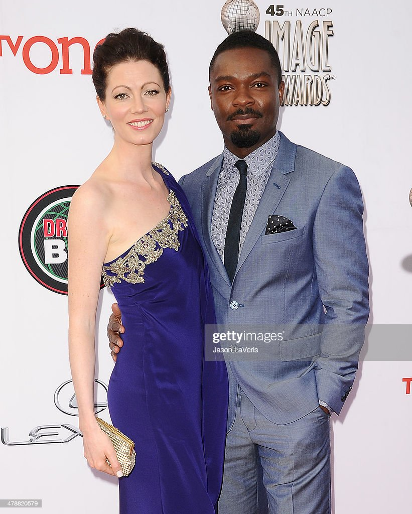 Actress Jessica Oyelowo and actor <a gi-track='captionPersonalityLinkClicked' href=/galleries/search?phrase=David+Oyelowo&family=editorial&specificpeople=633075 ng-click='$event.stopPropagation()'>David Oyelowo</a> attend the 45th NAACP Image Awards at Pasadena Civic Auditorium on February 22, 2014 in Pasadena, California.