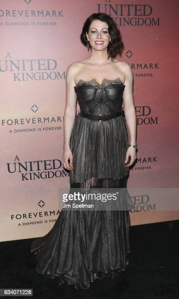 Actress Jessica Oyelowo attends the 'A United Kingdom' world premiere at The Paris Theatre on February 6 2017 in New York City