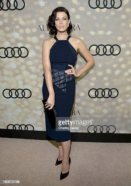 Actress Jessica Paré attends the Audi and Altuzarra KickOff Emmys Week 2013 event at Ceconni's on September 15 2013 in West Hollywood California
