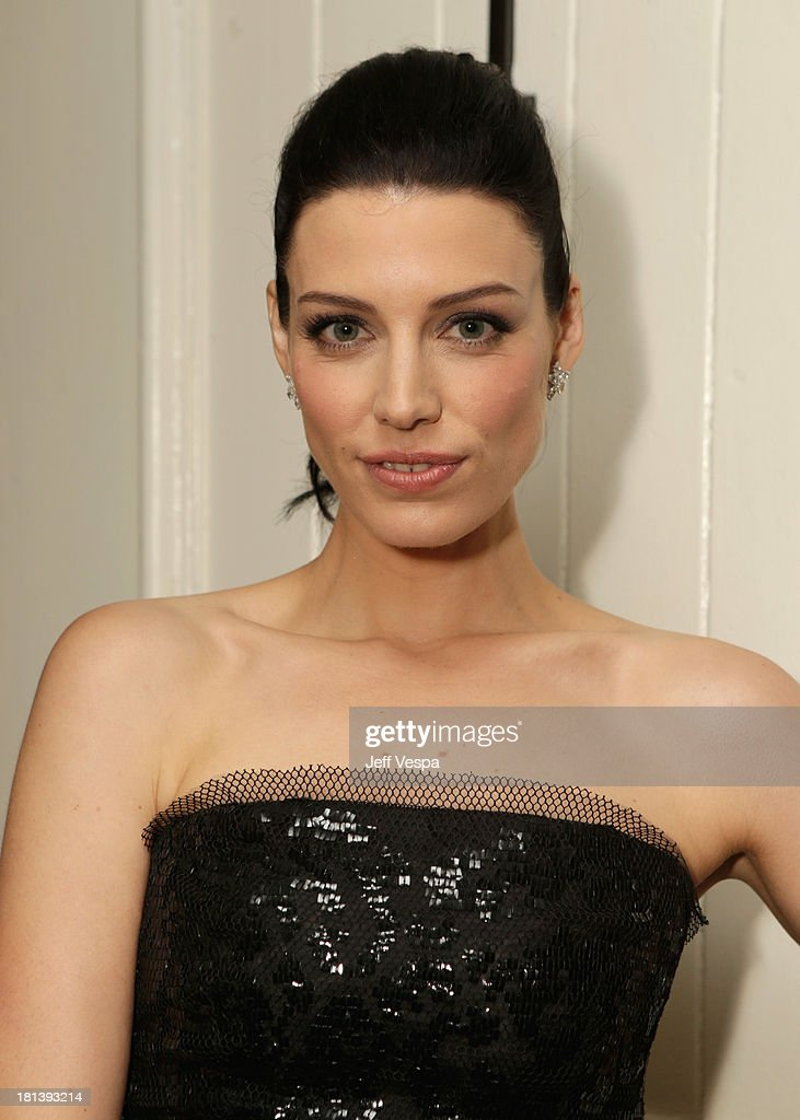 Actress Jessica Paré attends Vanity Fair and Maybelline toast to 'Mad Men' at Chateau Marmont on September 20, 2013 in Los Angeles, California.