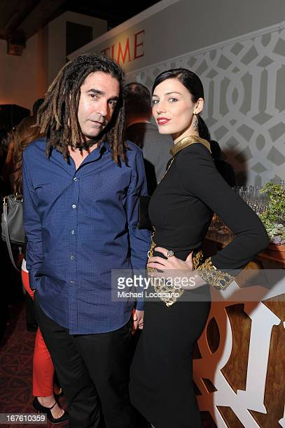 Actress Jessica Pare and John Kastner attend the PEOPLE/TIME Party On The Eve Of The White House Correspondents' Dinner on April 26 2013 in...
