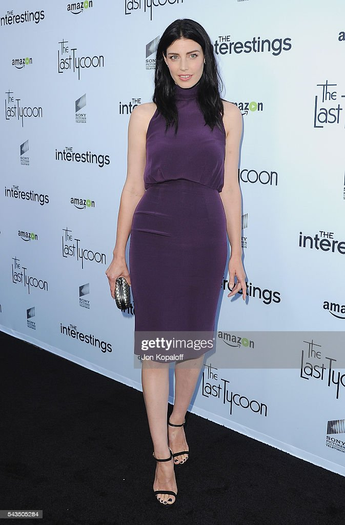 Actress Jessica Pare arrives at Sony Pictures Television Social Soiree Featuring Amazon Pilots, 'The Last Tycoon' And 'The Interestings' at Sony Pictures Studios on June 28, 2016 in Culver City, California.