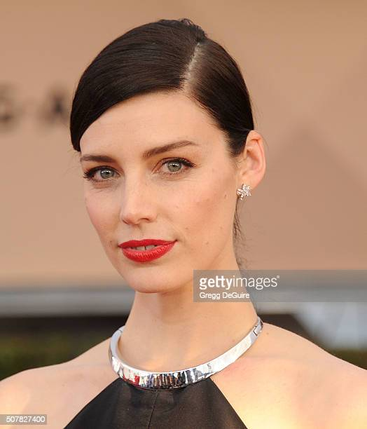 Actress Jessica Pare arrives at the 22nd Annual Screen Actors Guild Awards at The Shrine Auditorium on January 30 2016 in Los Angeles California