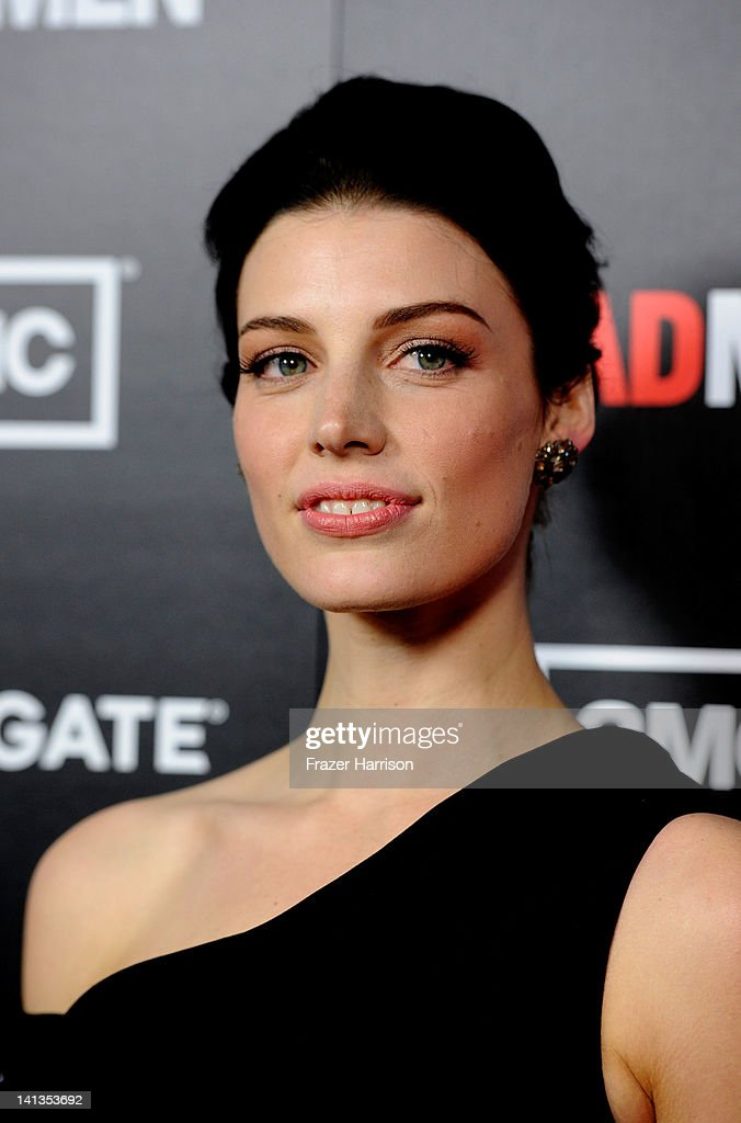 Actress Jessica Pare arrives at the Premiere of AMC's 'Mad Men' Season 5 at ArcLight Cinemas on March 14, 2012 in Hollywood, California.