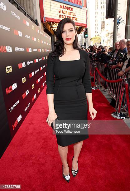 Actress Jessica Pare attends a 'Mad Men' Live Read and Series Finale Event at The Theater at The Ace Hotel on May 17 2015 in Los Angeles California