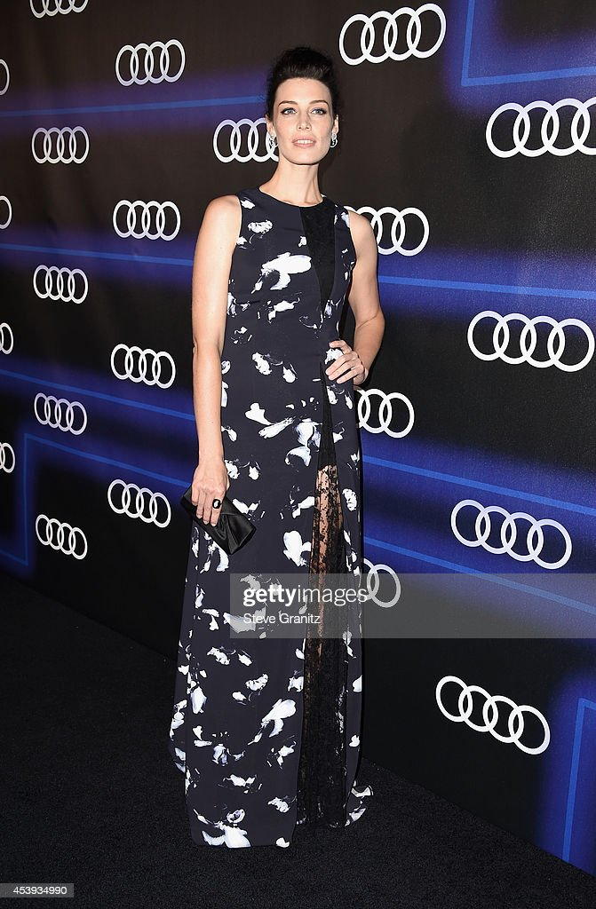 Actress <a gi-track='captionPersonalityLinkClicked' href=/galleries/search?phrase=Jessica+Pare&family=editorial&specificpeople=793183 ng-click='$event.stopPropagation()'>Jessica Pare</a> attends Audi Emmy Week Celebration at Cecconi's Restaurant on August 21, 2014 in Los Angeles, California.