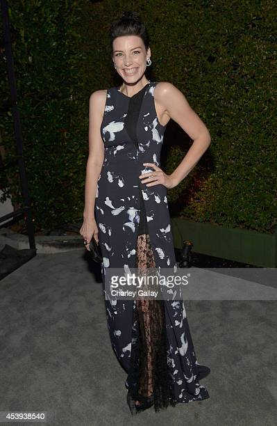 Actress Jessica Pare attends Audi's Celebration of Emmys Week 2014 at Cecconi's Restaurant on August 21 2014 in Los Angeles California
