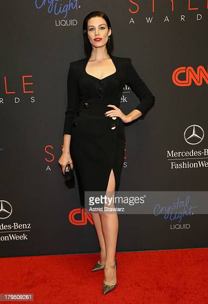 Actress Jessica Pare attends the 10th annual Style Awards during Mercedes Benz Fashion Week Spring 2014 at Lincoln Center on September 4 2013 in New...