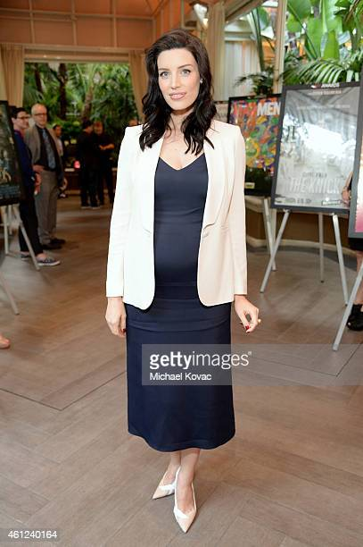 Actress Jessica Pare attends the 15th Annual AFI Awards Luncheon at Four Seasons Hotel Los Angeles at Beverly Hills on January 9 2015 in Beverly...