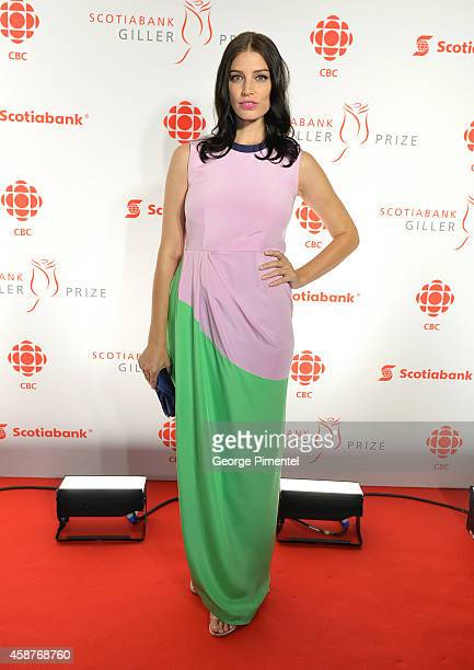 Actress Jessica Pare attends the 21st Annual Scotiabank Giller Prize on November 10 2014 in Toronto Canada
