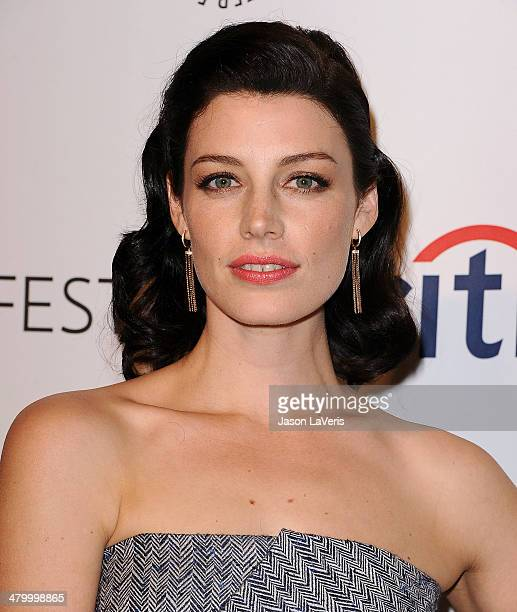 Actress Jessica Pare attends the 'Mad Men' event at the 2014 PaleyFest at Dolby Theatre on March 21 2014 in Hollywood California
