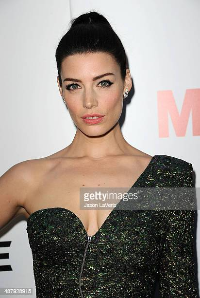 Actress Jessica Pare attends the season 7 premiere of 'Mad Men' at ArcLight Cinemas on April 2 2014 in Hollywood California