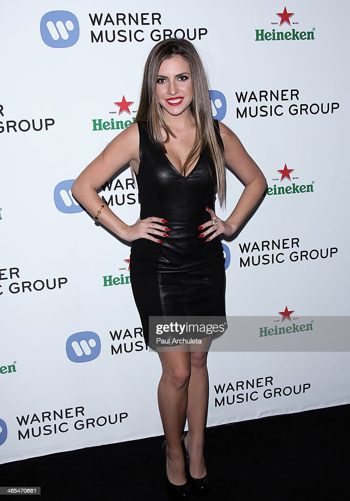 Actress <a gi-track='captionPersonalityLinkClicked' href=/galleries/search?phrase=Jessica+Pare&family=editorial&specificpeople=793183 ng-click='$event.stopPropagation()'>Jessica Pare</a> attends the Warner Music Group annual Grammy celebration at the Sunset Towers on January 26, 2014 in West Hollywood, California.