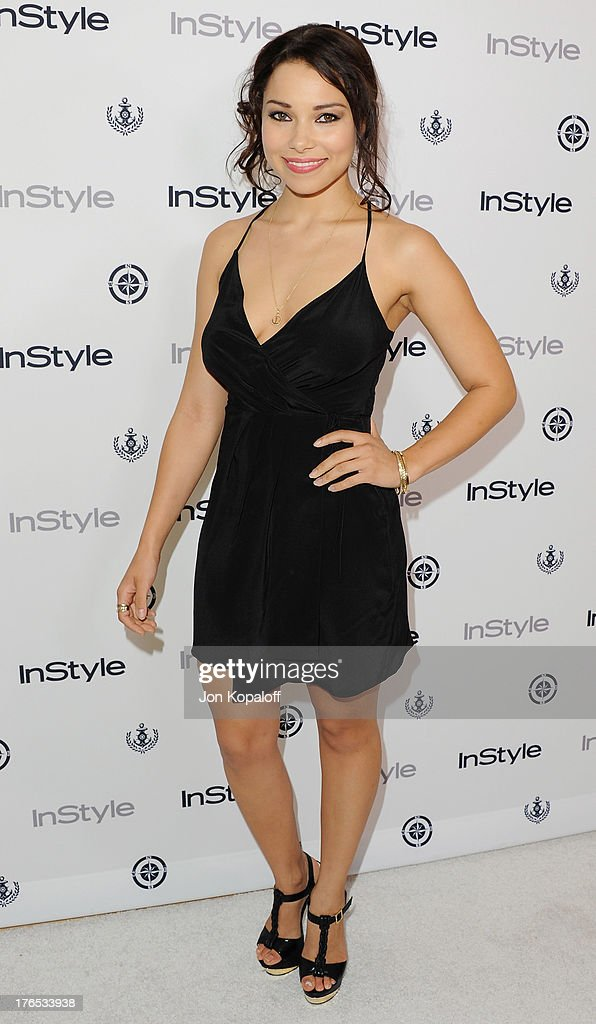 Actress <a gi-track='captionPersonalityLinkClicked' href=/galleries/search?phrase=Jessica+Parker+Kennedy&family=editorial&specificpeople=6964331 ng-click='$event.stopPropagation()'>Jessica Parker Kennedy</a> arrives at the 13th Annual InStyle Summer Soiree at Mondrian Los Angeles on August 14, 2013 in West Hollywood, California.