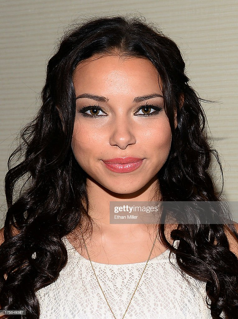 Actress Jessica Parker Kennedy from Starz's new series 'Black Sails' poses during Comic-Con International 2013 at the Hilton San Diego Bayfront Hotel on July 19, 2013 in San Diego, California.