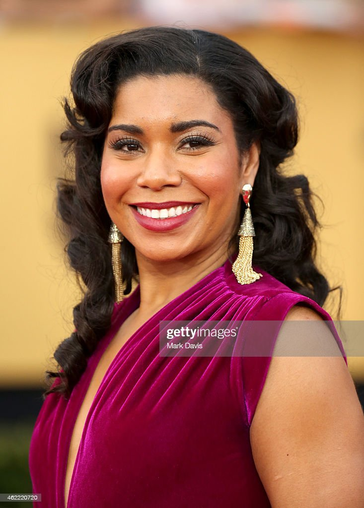 Actress Jessica Pimentel attends TNT's 21st Annual Screen Actors Guild Awards at The Shrine Auditorium on January 25 2015 in Los Angeles California...