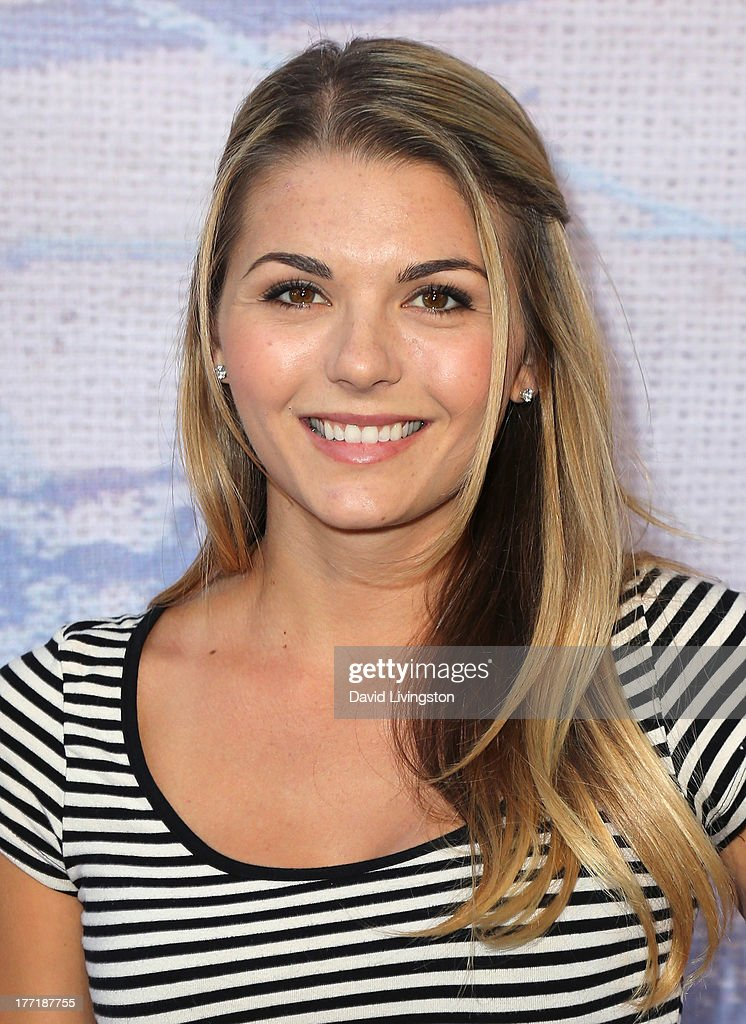 Actress Jessica Rose attends the opening night of Billy Zane's 'Seize The Day Bed' solo art exhibition at G+ Gulla Jonsdottir Design on August 21, 2013 in Los Angeles, California.