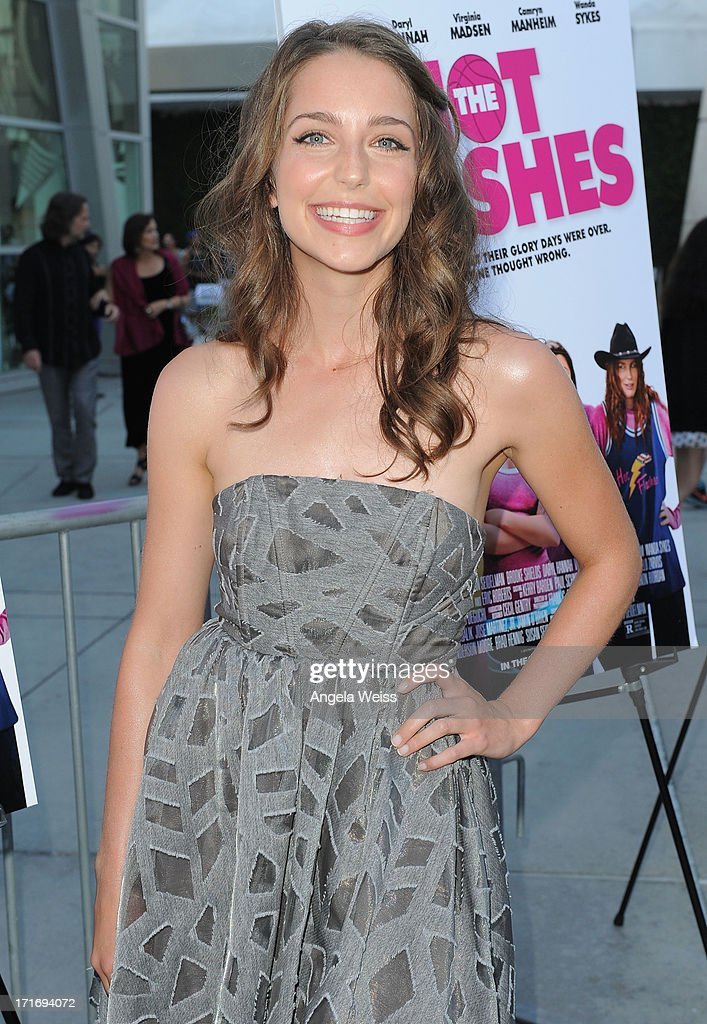 Actress Jessica Rothenberg arrives at the premiere of 'The Hot Flashes' at ArcLight Cinemas on June 27, 2013 in Hollywood, California.