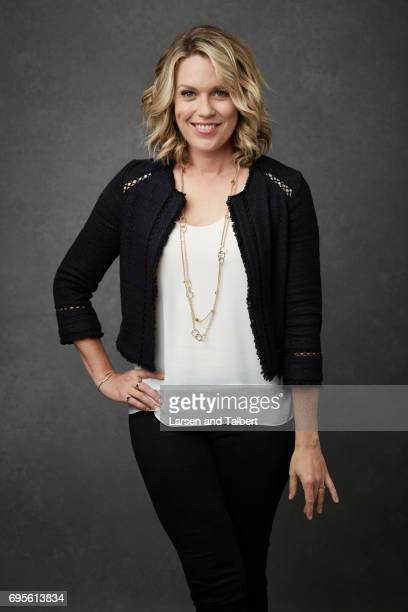 Actress Jessica St Clair of 'Playing House' is photographed for Entertainment Weekly Magazine on June 9 2017 in Austin Texas